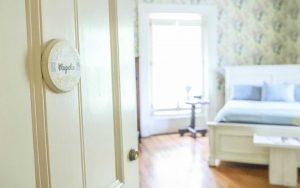 Magnolia Suite Door